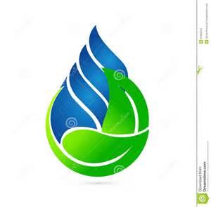 Eco Friendly House Ideas water drop ecology concept logo stock vector image 41064241
