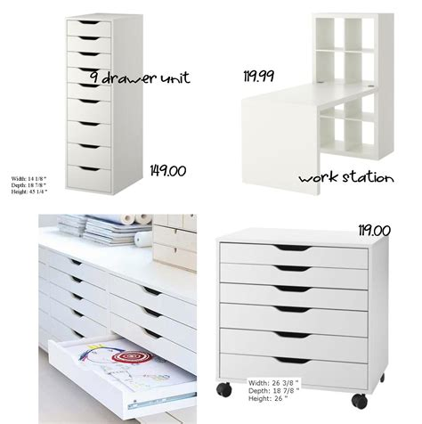 Ikea Storage | it s written on the wall craft room organizing store over