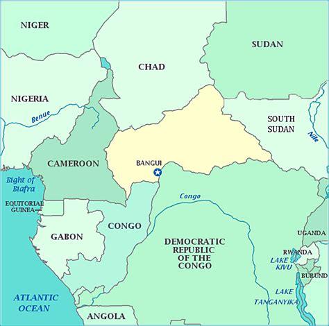 yourchildlearns africa map htm zentralafrikanische republik karte tierwelt