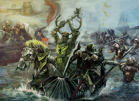 Kaos Of Thrones House Of Greyjoy 3d Premium Got 006 battle on the trident by bendennett on deviantart