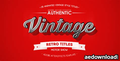 motion title templates free 25 animated vintage titles free videohive