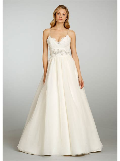 photos organza wedding dresses with straps for