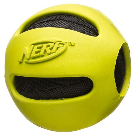 b amp m nerf crunchable dog ball 297524 b amp m