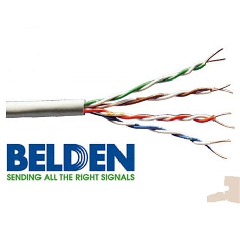 Belden Cat5e Original jual belden cat6 meteran utp rj45 original usa cable kabel