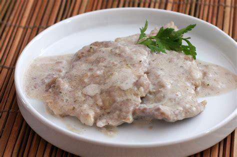 sauce boursin cuisine pork chops with boursin sauce