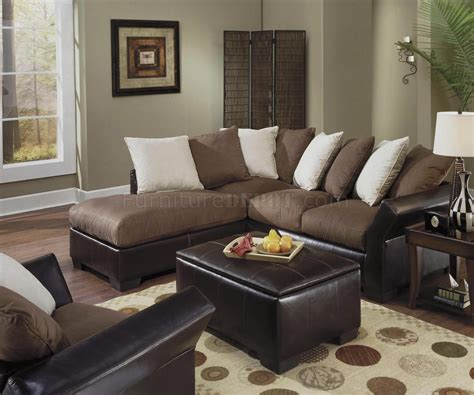Leather And Suede Sofa Usa Leather Furniture Best Leather And Suede Sectional Sofa