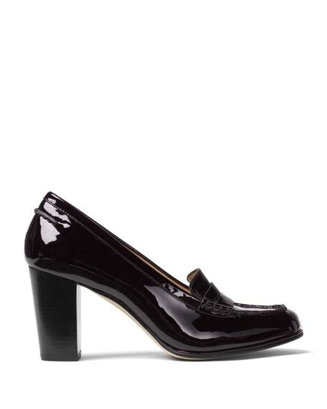 michael kors patent leather loafers michael michael kors bayville patent leather keeper