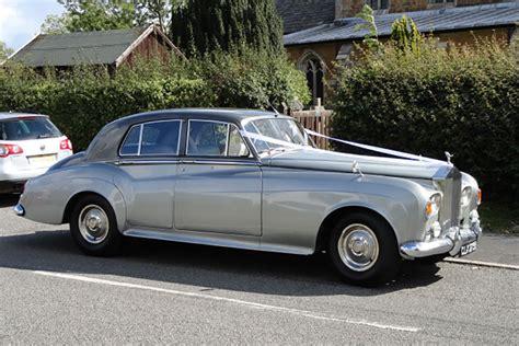chauffeur driven rolls royce silver cloud 3 1964 wedding car