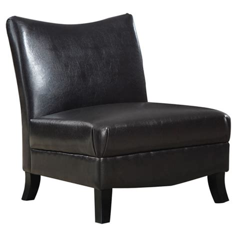 Leather Slipper Chair Design Ideas Monarch Specialties Inc Leather Slipper Chair Reviews Wayfair