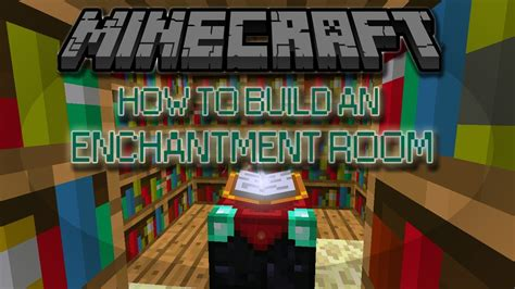 how to make an enchantment room how to build an enchantment room in minecraft