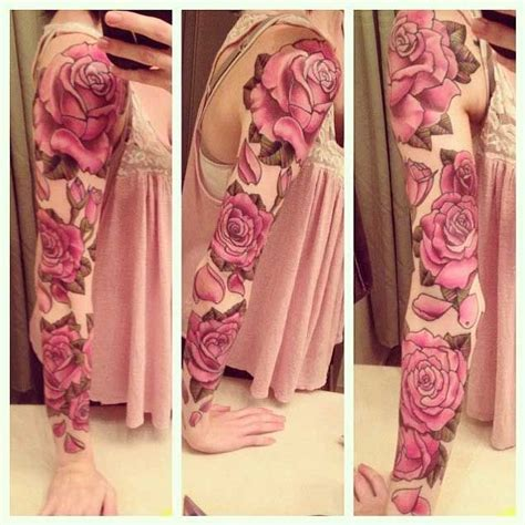 rose sleeve tattoos for women 30 fabulous floral sleeve tattoos for floral