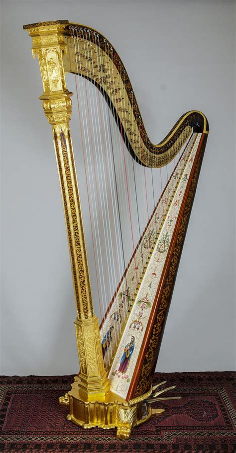 L Harps by Ornate Harp By R L Lewis New York