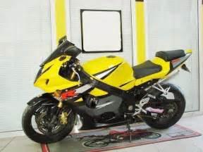 Suzuki Gsxr 1000 Yellow Black W Yellow Fairing Bodywork Injection For 2003 2004
