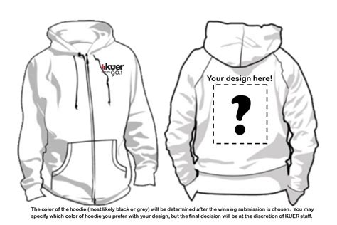 Contest Design Our Hoodie Kuer 90 1 Hoodie Design Template