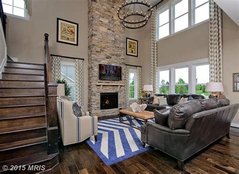 Brown Kitchens Designs traditional living room with hardwood floors amp stone