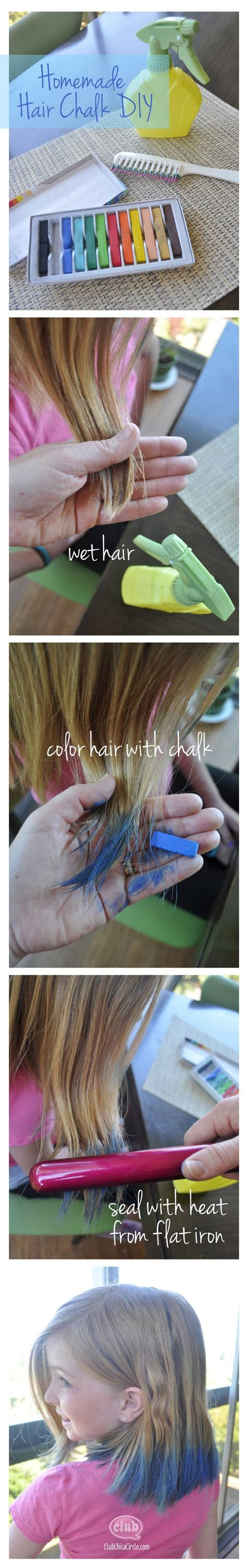 hair chalking a new look at diy hair color stylenoted create this cool hair fashion trend at home with the easy