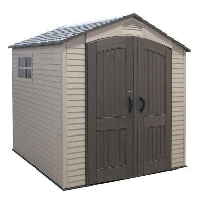 backyard sheds home depot lifetime 7 ft x 7 ft outdoor storage shed 60042 the