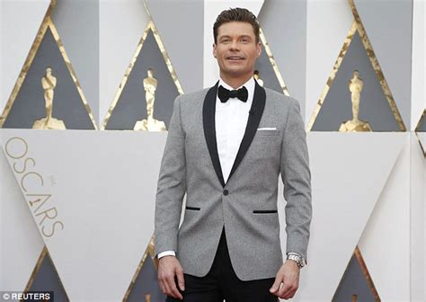 Seacrest Discusses Angelinas Carpet Snub by Seacrest Snubs Sacha Baron Cohen On Oscars 2016