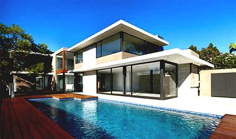 Cool Houses by U Shaped Cool House Plans With Pool In The Middle Home