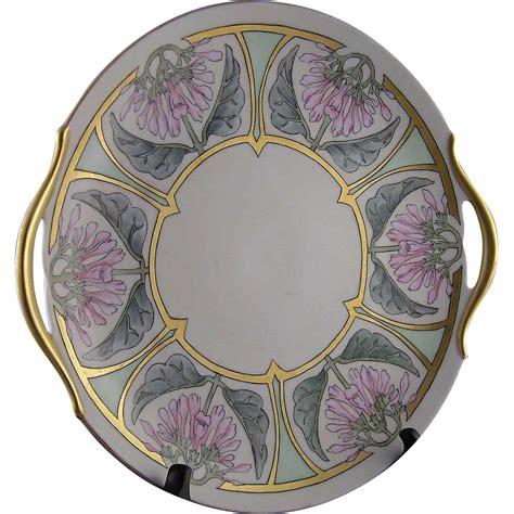 Payung Terbalik Motif Flower Handle C No 1 ph leonard austria arts crafts floral motif handled serving plate from darkflowers on ruby