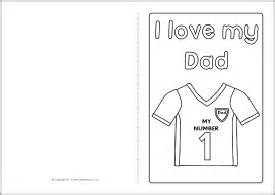 Fathers Day Template by S Day Card Colouring Templates Sb4935 Sparklebox