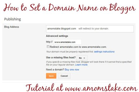blogger names how to create a domain on blogger easy tutorial to