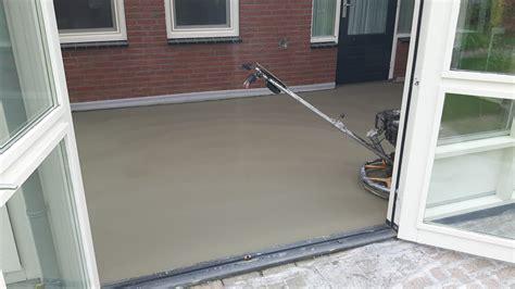 beton laten storten voor tuinhuis betonvloer storten great vloer tuinhuis beton storten