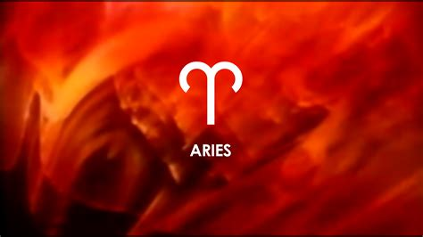 aries sign on a red background wallpapers and images