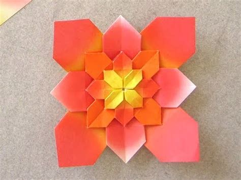 origami hydrangea 折り紙 あじさい の折り方 how to make origami hydrangea doovi