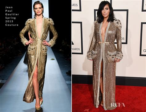 Catwalk To Carpet Grammy Awards by In Jean Paul Gaultier Couture 2015 Grammy