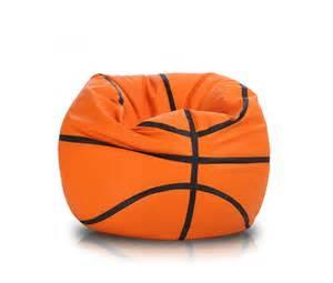 Kid Duvet Basketball Style Large Bean Bag Chair