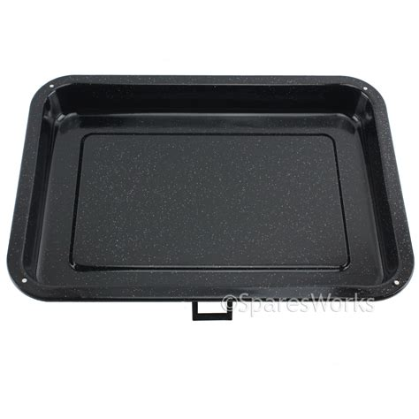 Oven Pan With Rack by Universal Small Oven Cooker Grill Pan Tray With Handle