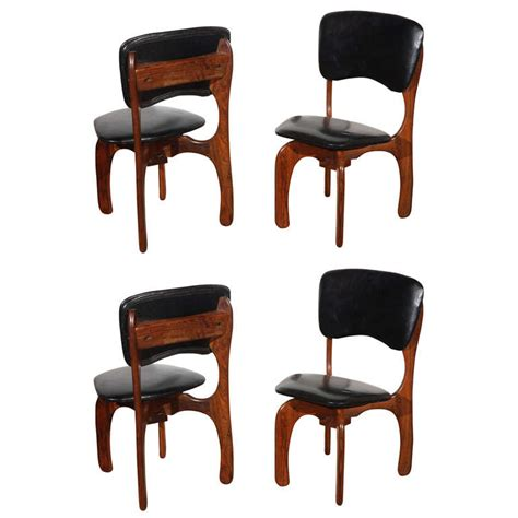rosewood side chair 4 rosewood side chairs by don shoemaker for sale at 1stdibs