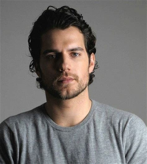 henry cavill hairstyle henry cavill photos with his medium long curly hairstyle png