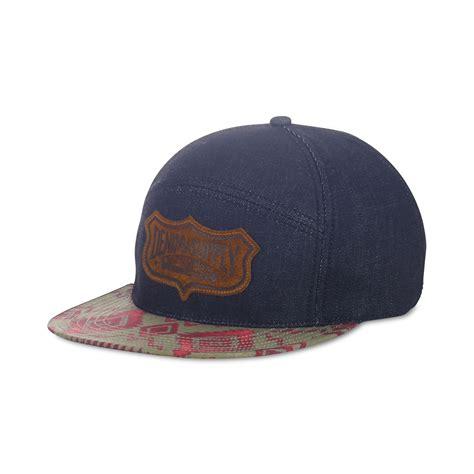 Denim Hat denim supply ralph southwesternprint hat in blue