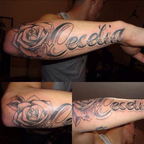 best 25 forearm name tattoos ideas on pinterest