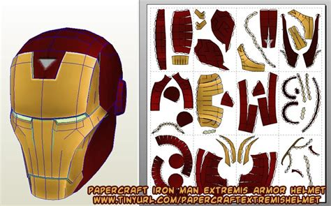 Iron Helmet Papercraft Pdf - ninjatoes papercraft weblog d l papercraft iron