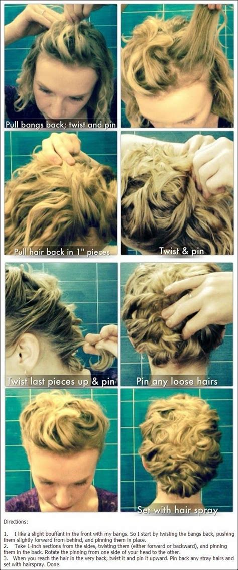 updos for curly hair i can do myself 17 best images about hairstyles on pinterest short
