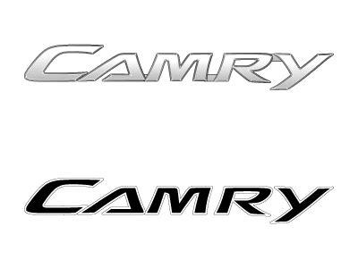 toyota camry logo domawe toyota camry vector logo