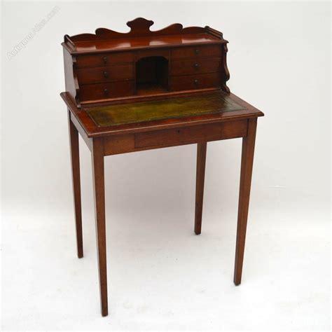 Small Mahogany Desk Small Antique Mahogany Escritoire Desk Antiques Atlas