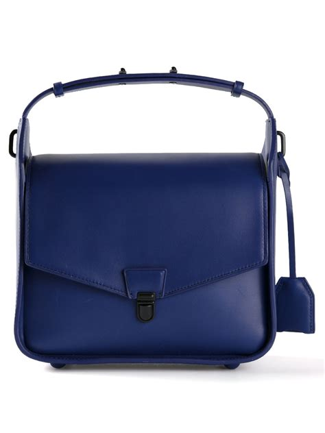 31 Phillip Lim Bag Shoulder Tote by Lyst 3 1 Phillip Lim Wednesday Shoulder Bag In Blue
