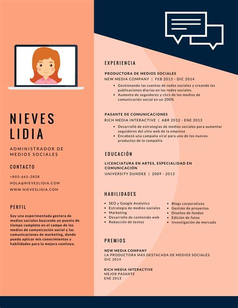 Curriculum Vitae Concepto Y Modelo 17 Best Ideas About Modelo Cv On Curriculum Ejemplo Modelo De Un Curriculum And