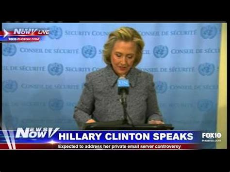 hillary clinton mailing address fnn hillary clinton addresses email controversy youtube