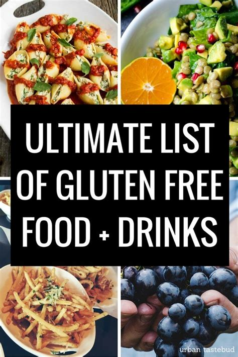 gluten free light list list of gluten free foods what you can and can t eat