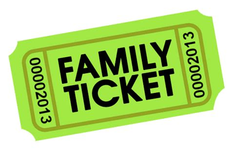 standard family ticket