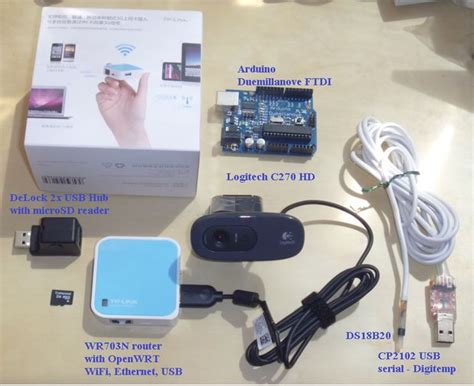 smart home automation webserver on openwrt router wr703n