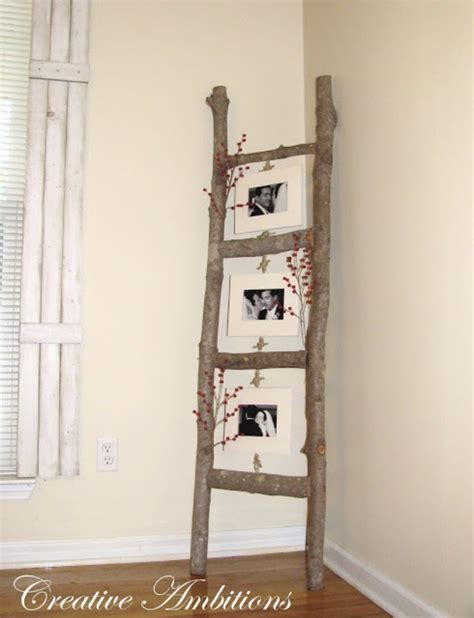 home decor ladder 38 brilliant diy living room decor ideas