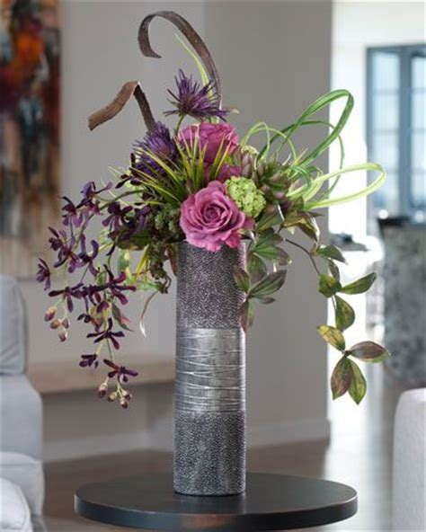 unique silk orchid display lifelike artificial flower