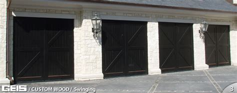 the swinging door milwaukee swinging custom wood geis garage doors milwaukee