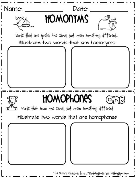 Homonym Worksheets by Synonyms Antonyms And Homonyms Worksheets Abitlikethis